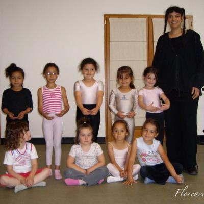 Cours de danse juin 2007