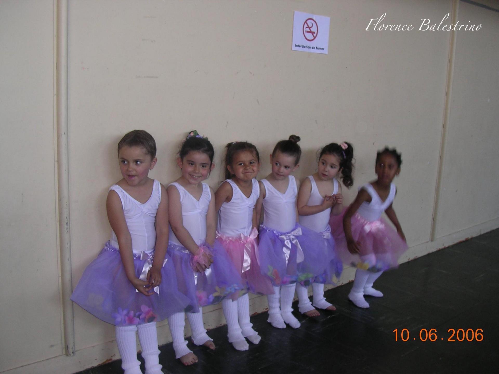 Gala de danse 2006en coulisses